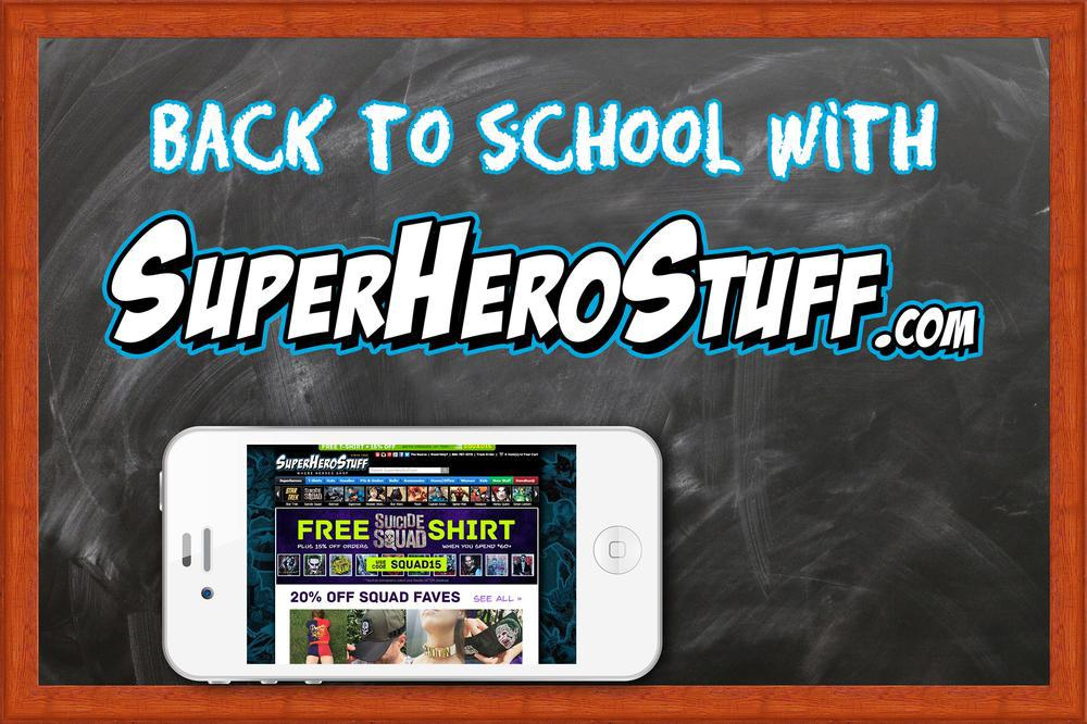 Back to school with superherostuff