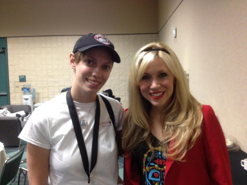 Dakster and Ashley Eckstein